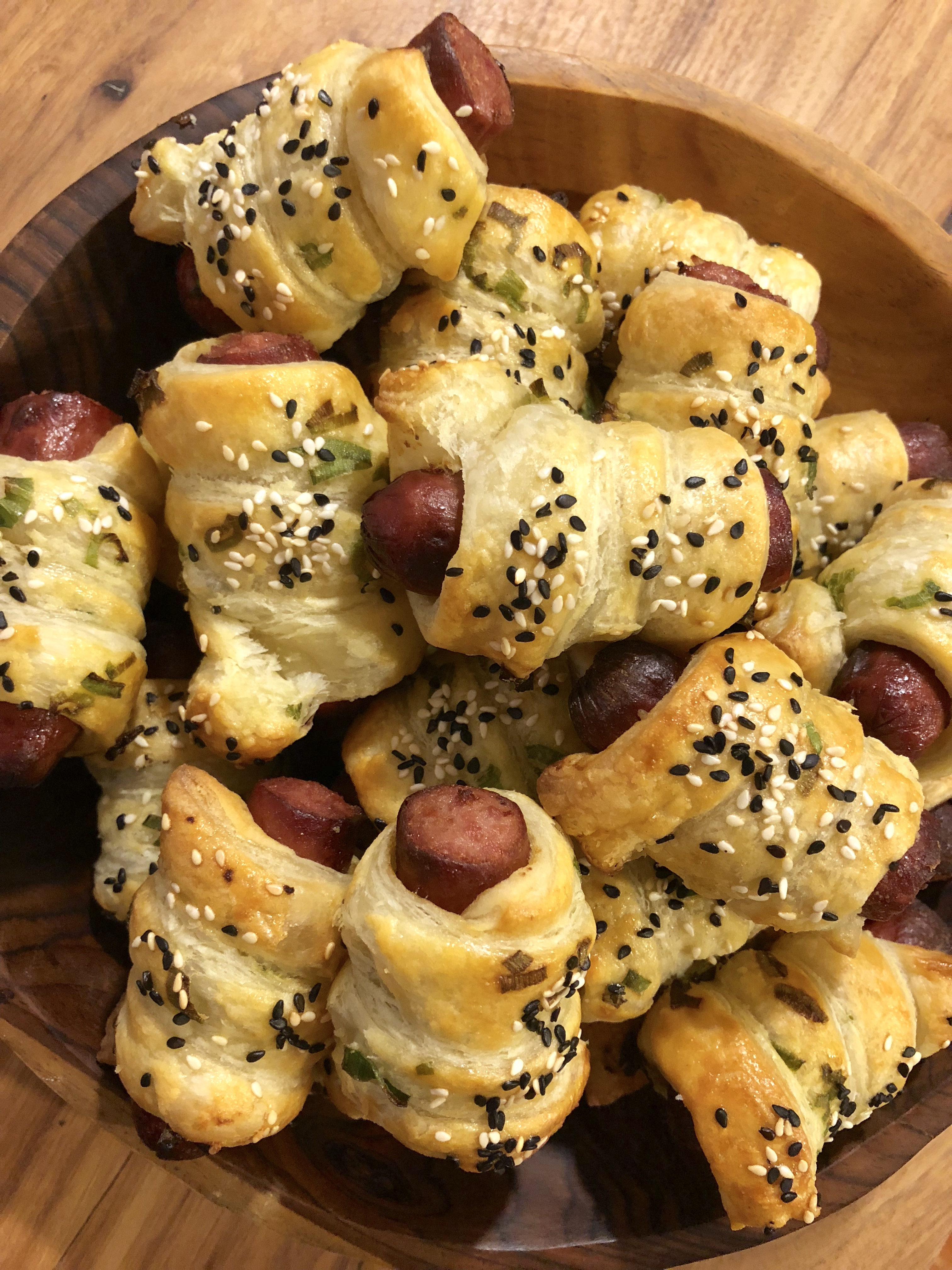 Scallion Pigs in a Blanket
